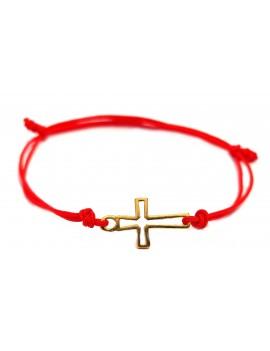 Bransoletka Krzyż Na...