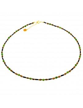 Naszyjnik Flower Diopsyt 925