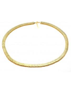 Naszyjnik Złoty Hematyt 925