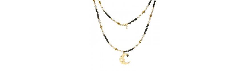 Naszyjniki|z kamieniem | kaskadowe | z perłą |Manilla by Anter